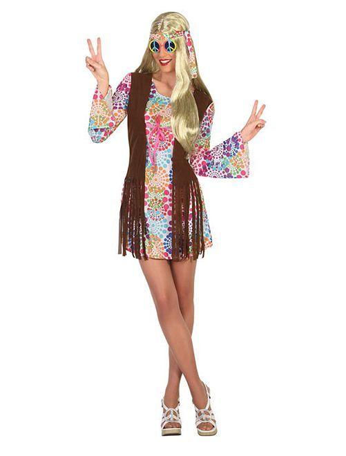 Disfraz de hippie                             multicolor