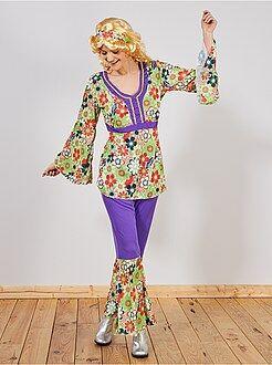Disfraz de 'hippy'