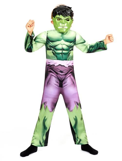 Disfraz de 'Hulk'                             verde Niños