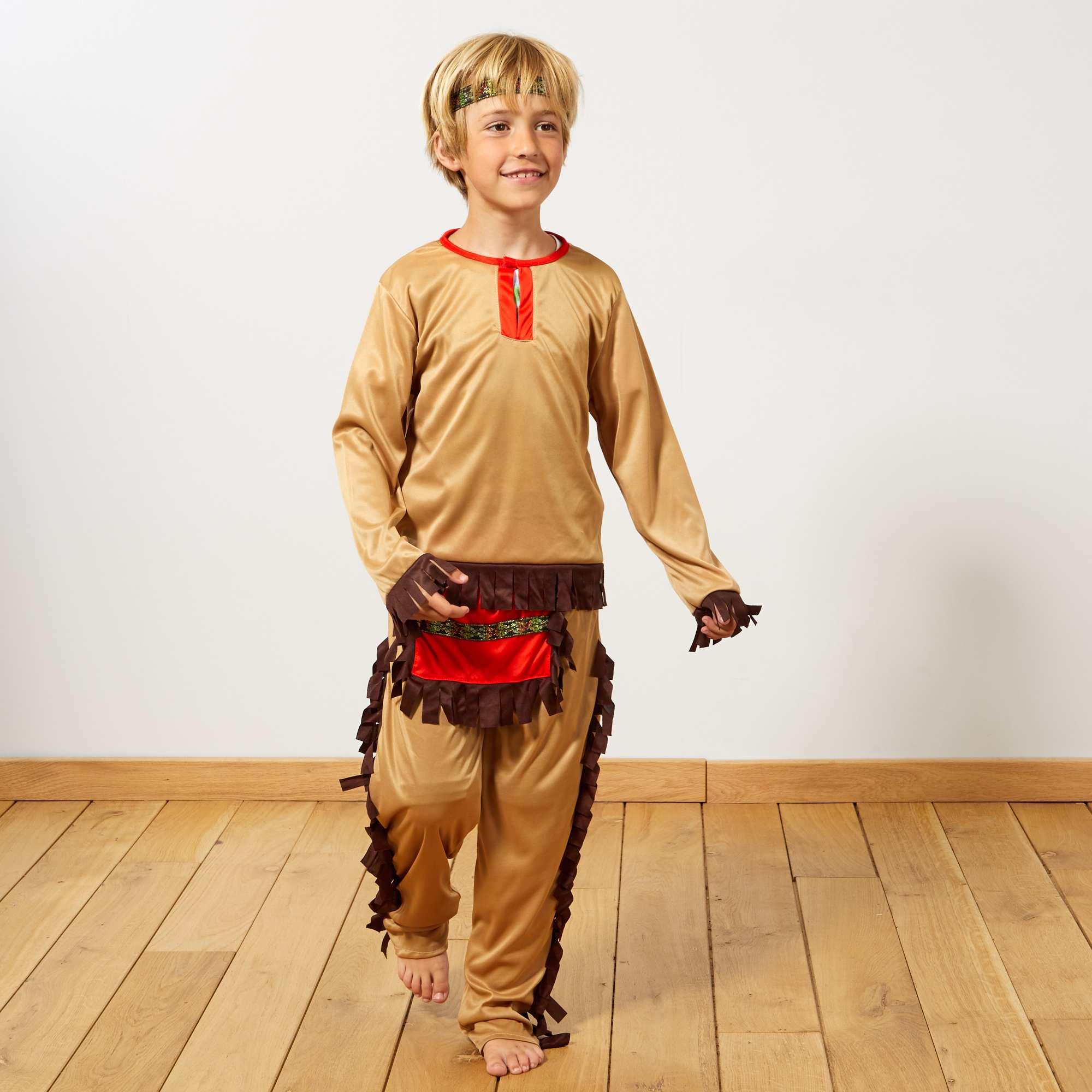 c124887fb0afc Disfraz de indio Niños - marrón - Kiabi - 15