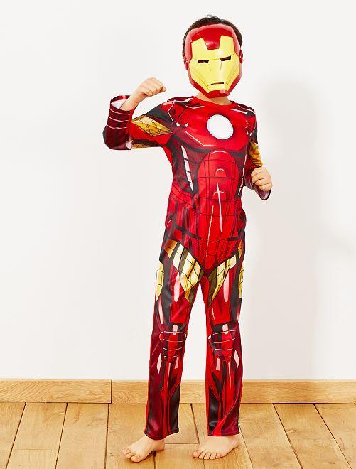 Disfraz de 'Iron Man'                             rojo/amarillo Niños