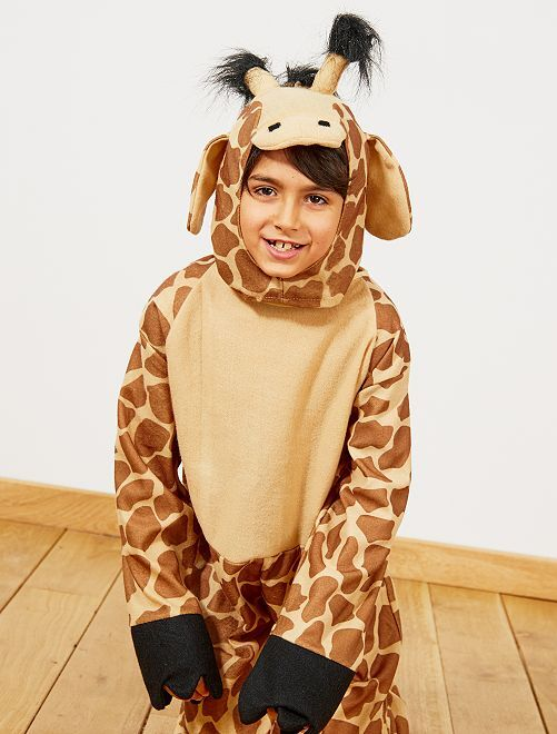 Disfraz de jirafa                             marrón