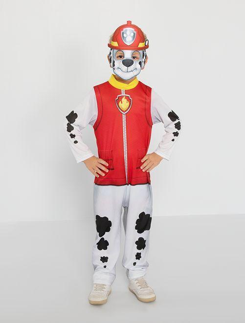 Disfraz de 'La Patrulla Canina'                             rojo/blanco