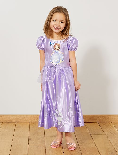 Disfraz de 'La Princesa Sofía'                             violeta Niños