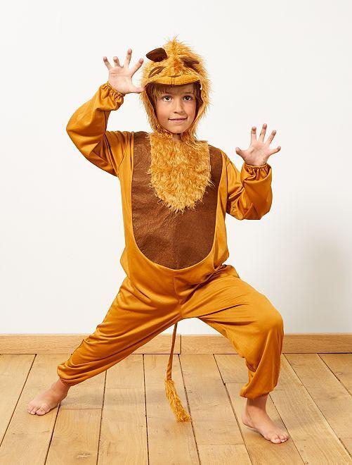 Disfraz de león                             marrón