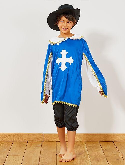 Disfraz de mosquetero                             azul