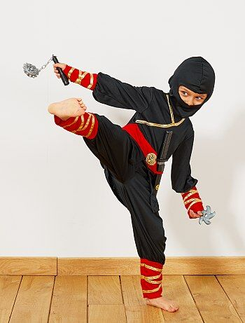 Disfraz de ninja + accesorios - Kiabi