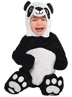 Bebé - Disfraz de oso panda - Kiabi