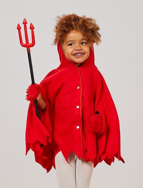 Disfraz de pequeño diablo                             rojo