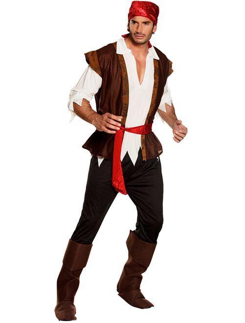 Disfraz de pirata                             marrón