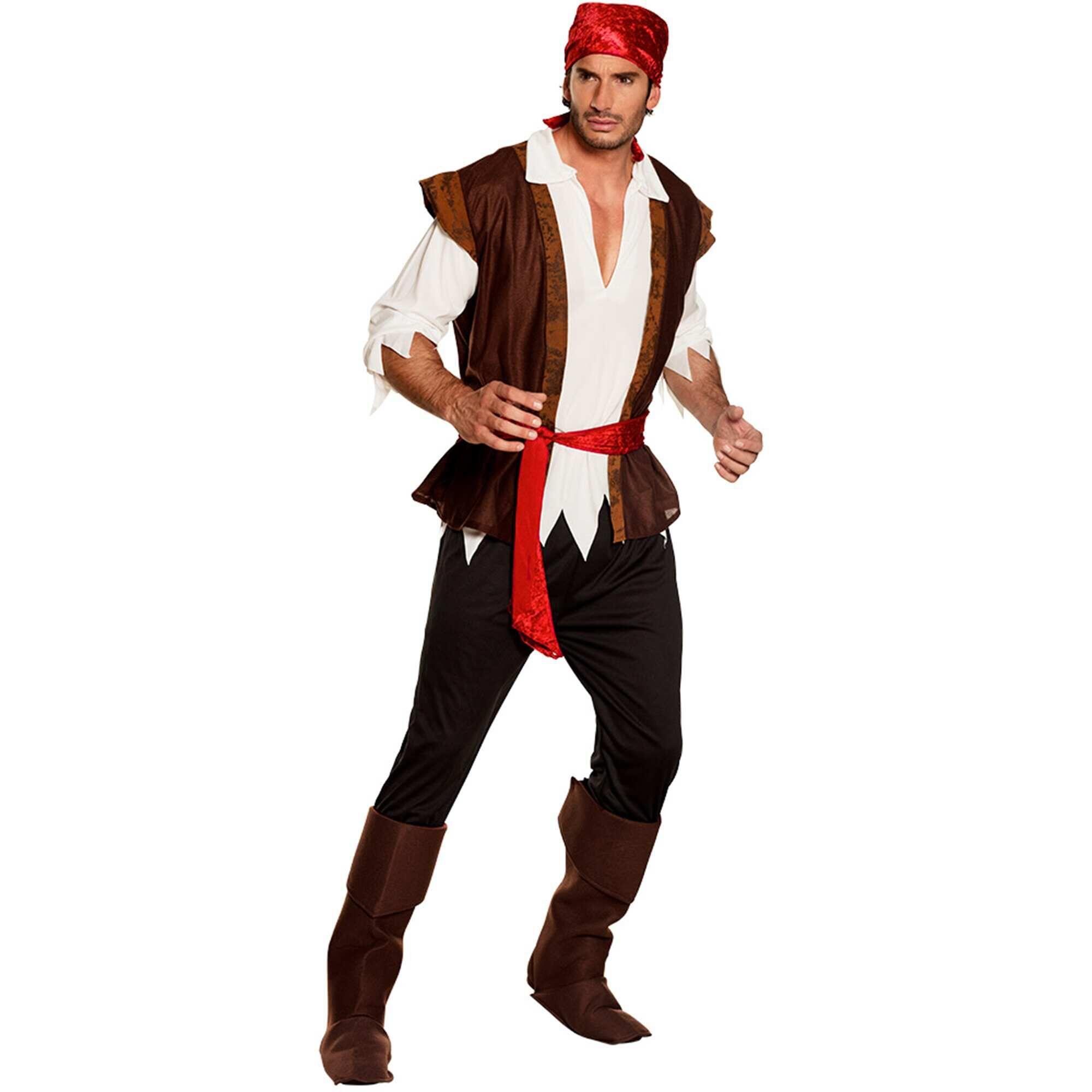 80cdd615c2de6 Disfraz de pirata Hombre - marrón - Kiabi - 23