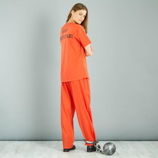 Disfraz de presa Disfraces mujer - naranja - Kiabi - 20,00€