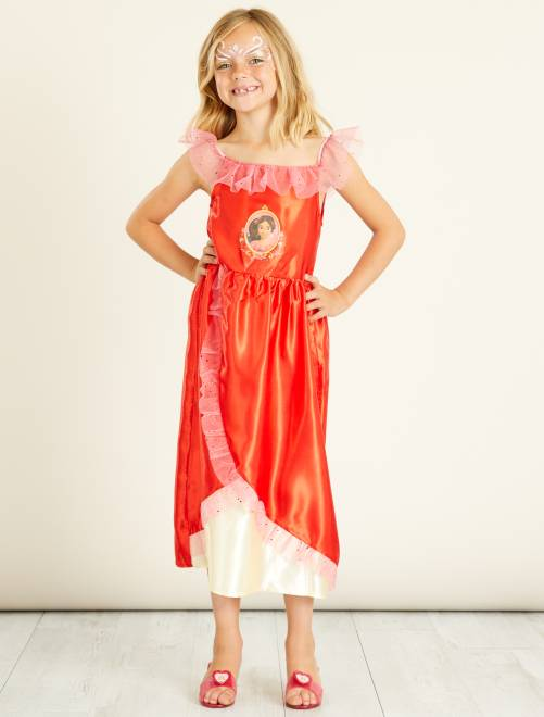 Disfraz de princesa 'Elena de Ávalor'                             rojo