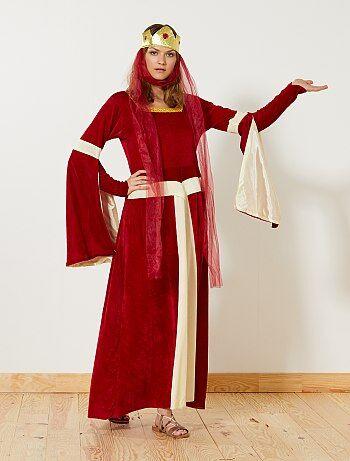 Mujer - Disfraz de princesa medieval - Kiabi