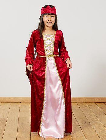 Disfraz de princesa medieval - Kiabi