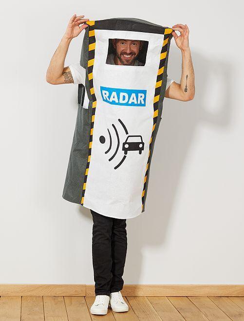 Disfraz de radar automático                             gris Hombre