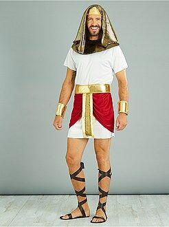 Hombre Disfraz de rey egipcio