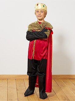 Niños Disfraz de rey medieval