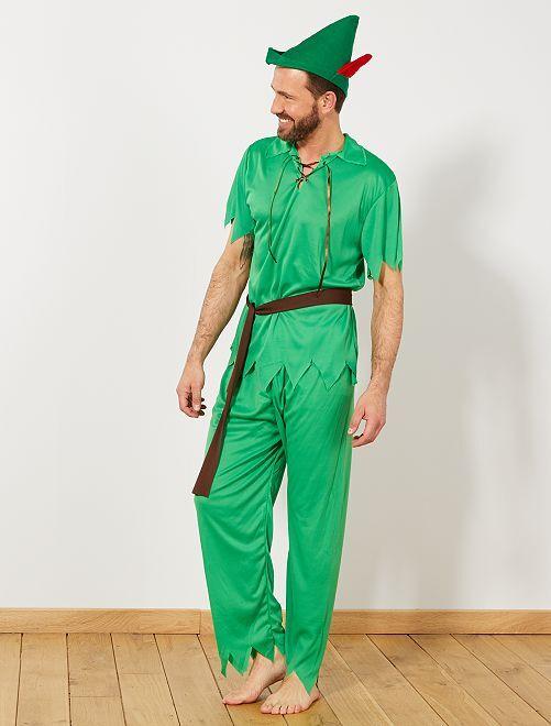 Disfraz de Robin Hood                             verde