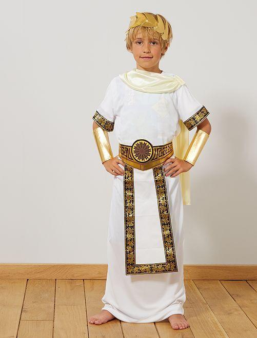 Disfraz de romano                             BLANCO Niños