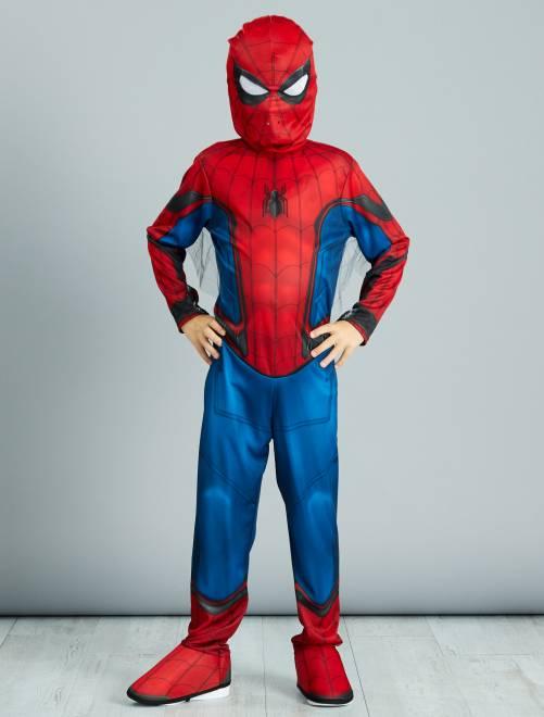 Disfraz de 'Spider-Man'                             bleu/rouge Niños