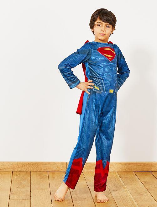 Disfraz de 'Superman'                             azul/rojo Niños