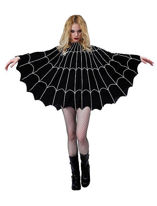 Disfraz de telaraña                             negro
