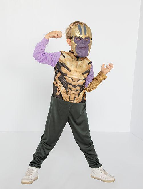 Disfraz de 'Thanos' de la saga de 'Los Vengadores'                             NEGRO