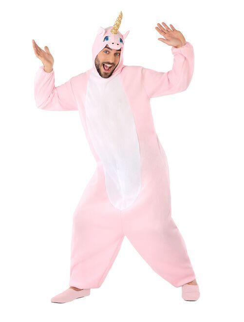 Disfraz de unicornio                             rosa