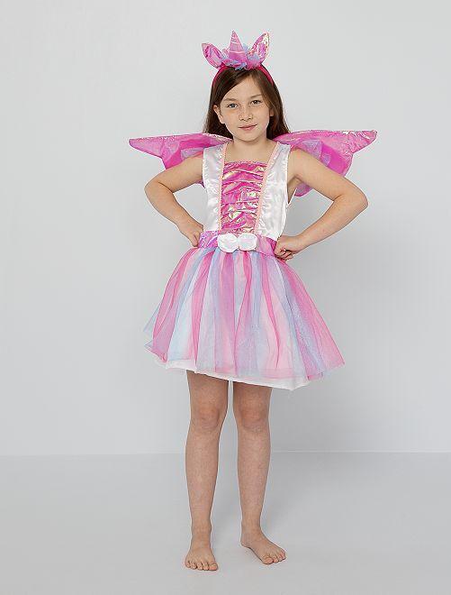 Disfraz de 'unicornio'                             rosa