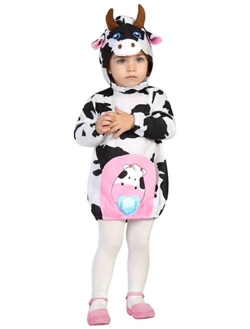 Disfraz de vaca                             blanco Bebé