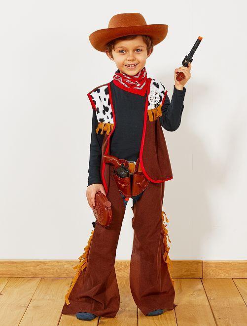 Disfraz de vaquero                             marrón