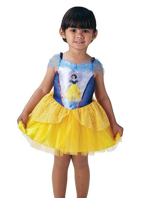 Disfraz de vestido de 'Blancanieves'                             AZUL
