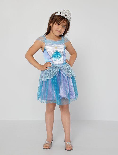 Disfraz de vestido de 'Cenicienta'                             azul