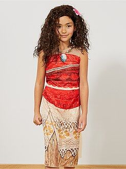 Disfraz de vestido de 'Vaiana' - Kiabi