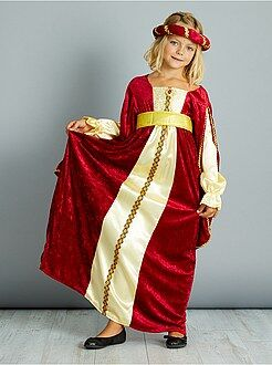 Niños Disfraz de vestido medieval