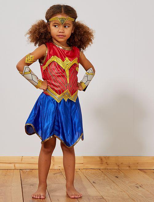 Disfraz de 'Wonder Woman'                             AZUL
