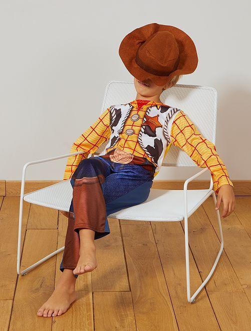 Disfraz de 'Woody' 'Toy Story'                             azul/marrón