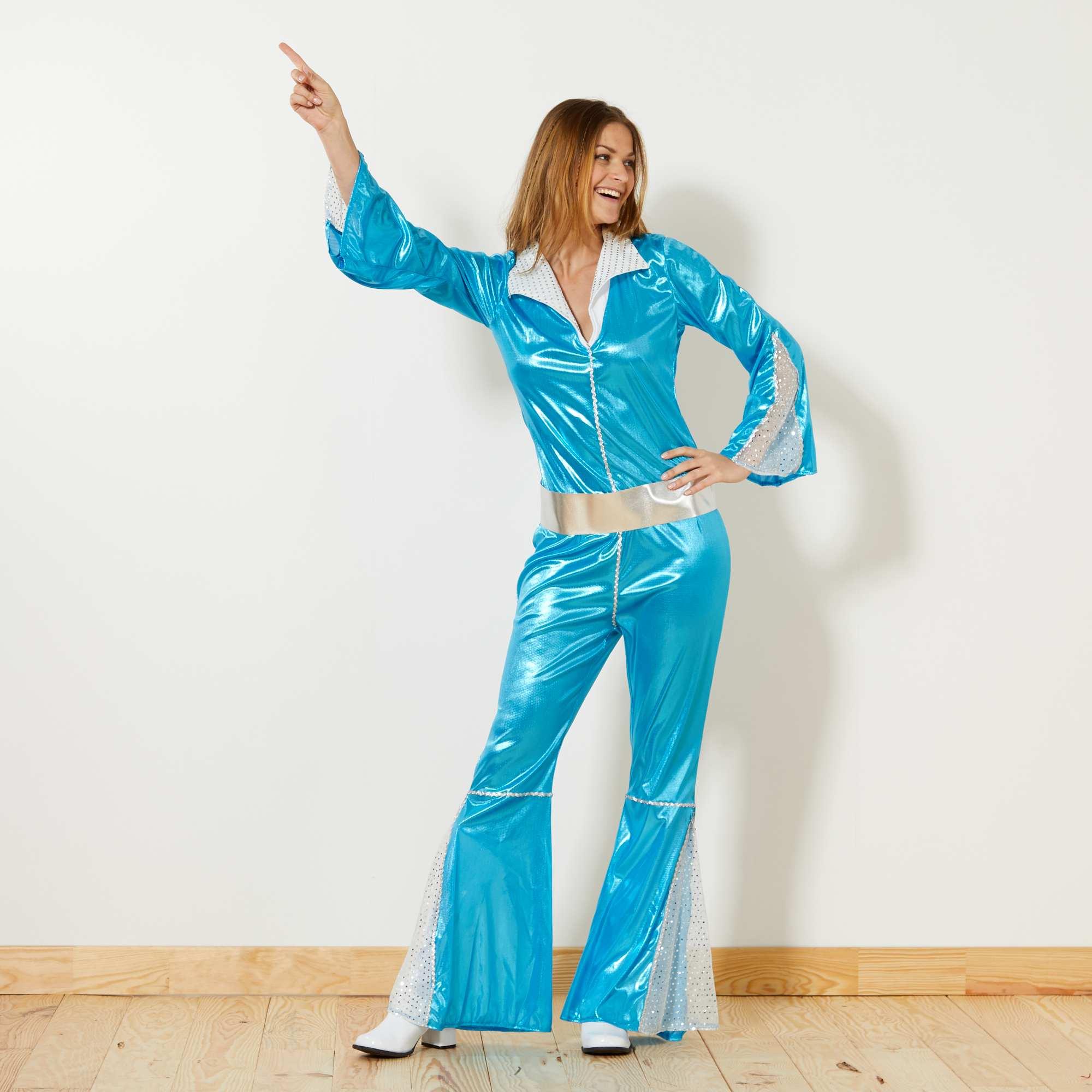 disfraz mujer disco