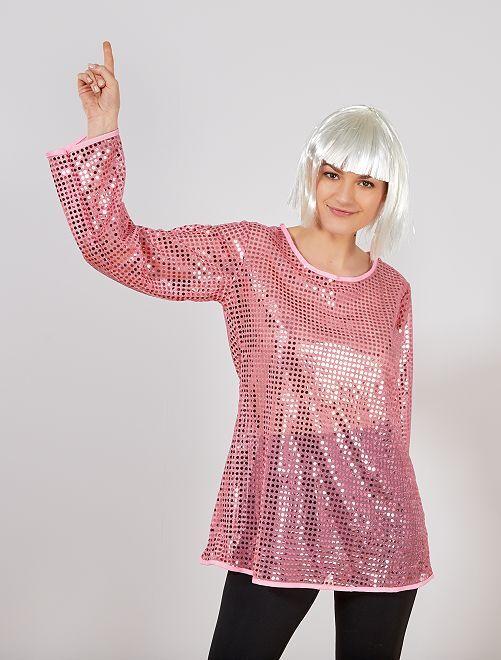 Disfraz 'disco'                                                     rosa