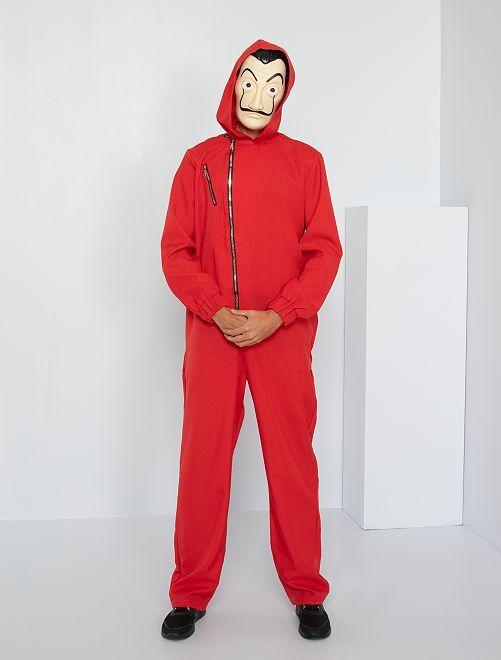 Disfraz 'La casa de papel'                             rojo