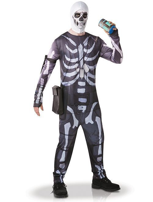 Disfraz 'Skull Trooper'                             negro/blanco