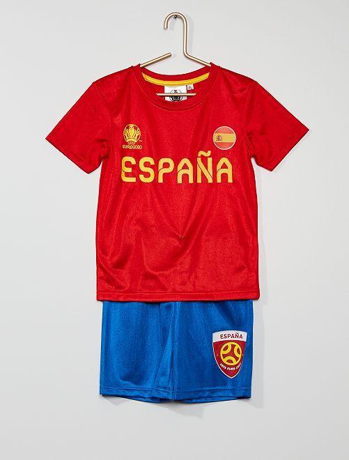 Equipación 'Selección española' 'UEFA'                             rojo/azul