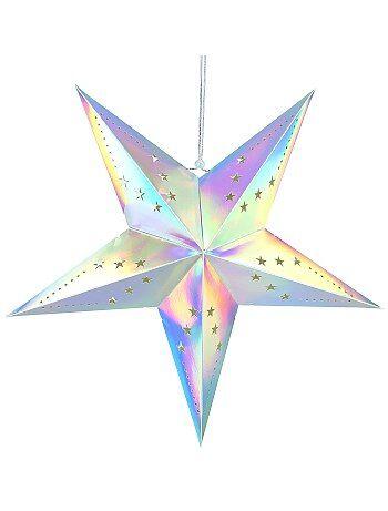 Estrella de decoración 60 cm - Kiabi