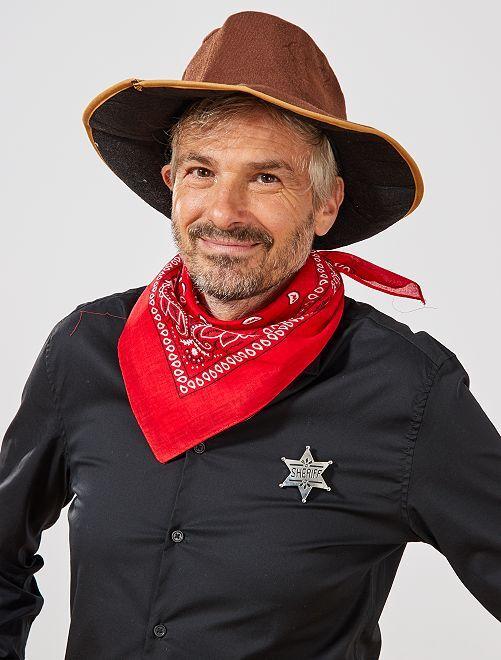 Estrella de sheriff                             plata