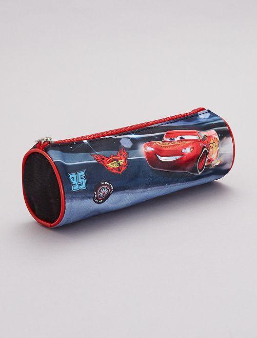 Estuche 'Cars' de 'Disney'                             negro/rojo Chico
