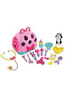 Niña 1-5 años Estuche con set veterinario 'Minnie'