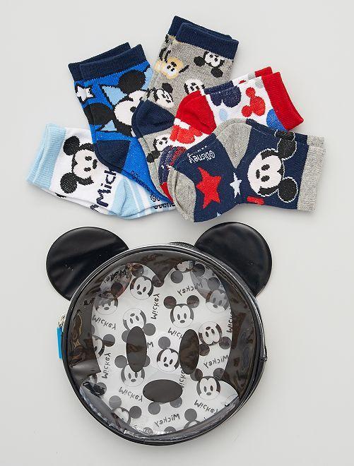 Estuche de 5 pares de calcetines 'Mickey'                             multicolor