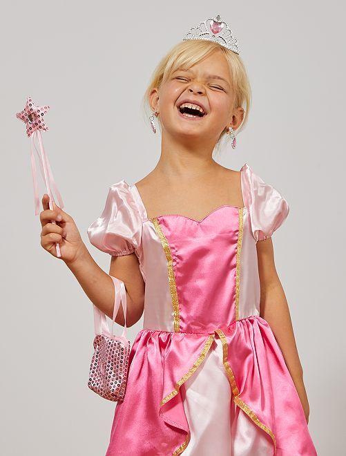 Estuche de accesorios de princesa                             rosa