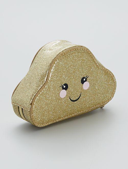 Estuche de almacenaje 'Nube'                             oro